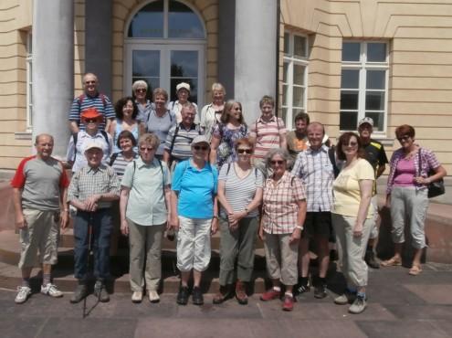 Gruppenbild in Karlsruhe